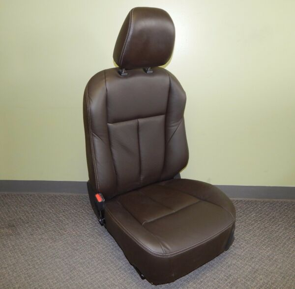 New OEM 2012-2016 Isuzu D-Max Complete Front Driver Bucket Seat Leather Heated