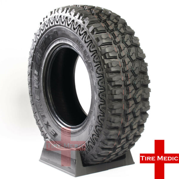 4 NEW MUD CLAW EXTREME M/T TIRES  265/70/17 265/70R17  2657017   LOAD E