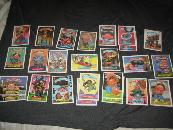 LOT (25) 1987 ASSORTED MIX TOPPS SERIES 9 GARBAGE PAIL KIDS GPK AUTHENTIC CARDS