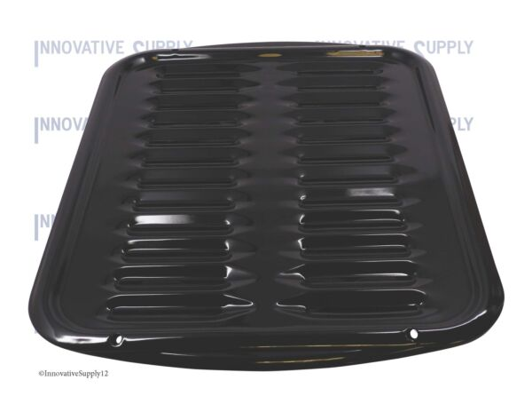 43969234396923RW Porcelain Broiler Pan w Grill - Replacement for Whirlpool