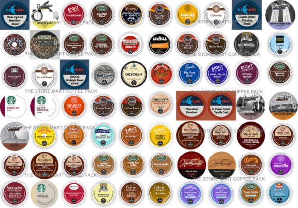 Keurig Coffee K-Cups Custom Variety Pack BEST KCUPS ON EBAY 2.0 Available