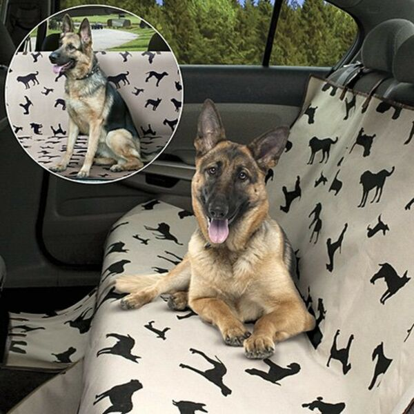 Dog Seat Cover Pet Waterproof Back Rear Soft Protector Car SUV Truck Travel $21.72