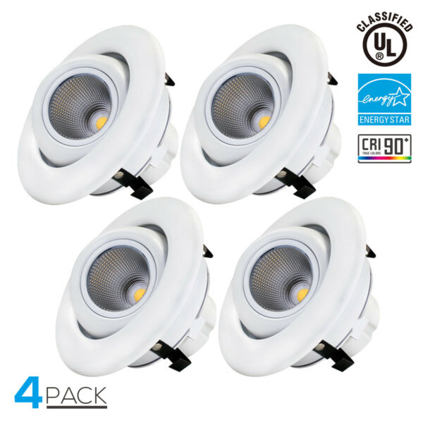 12Watt 4-inch Dimmable Retrofit LED Recessed Lighting Fixture-LED Ceiling Light