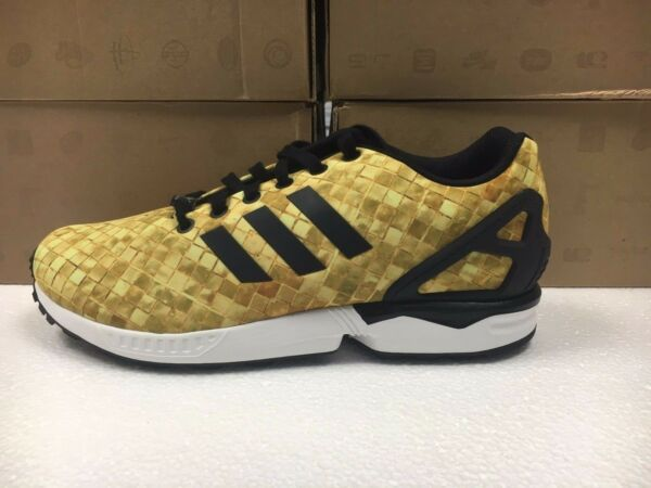 NEW MENS ADIDAS ZX FLUX SNEAKERS-SHOES-SIZE 11.5