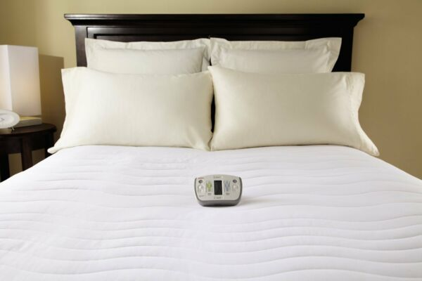 Sunbeam Therapeutic Electric Heated Mattress Pad-Wireless Control CAL King Size