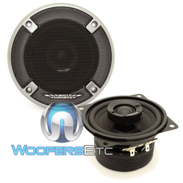 IMAGE DYNAMICS ID4 CAR 4quot; AUDIO 2 WAY SILK DOME TWEETERS COAXIAL SPEAKERS NEW $54.99