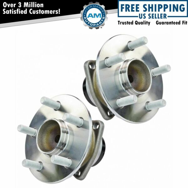 Rear Wheel Hub amp; Bearing Assembly Pair Set for Toyota Pontiac w ABS $75.72