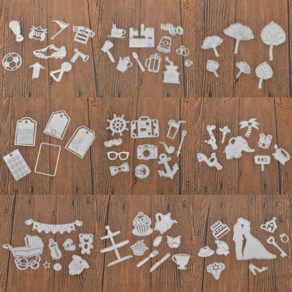 Metal Cutting Dies Stencils For DIY Scrapbooking Photo Album Paper Card Gift