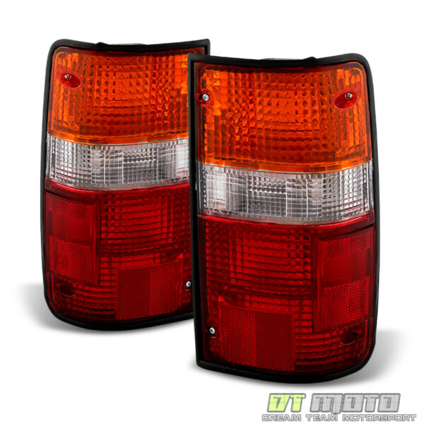 For 1989-1995 Toyota Pickup Tail Lights Brake Lamps Replacement Left+Right 89-95