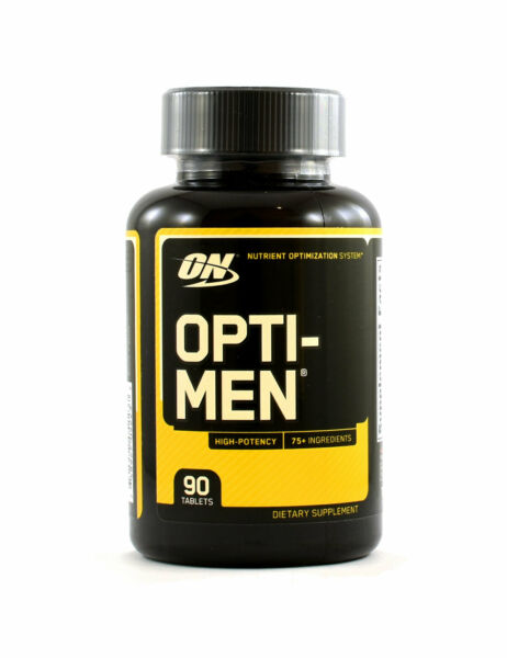 Optimum Nutrition Opti-Men  (90 Tablets) High-Potency Multivitamin for Men