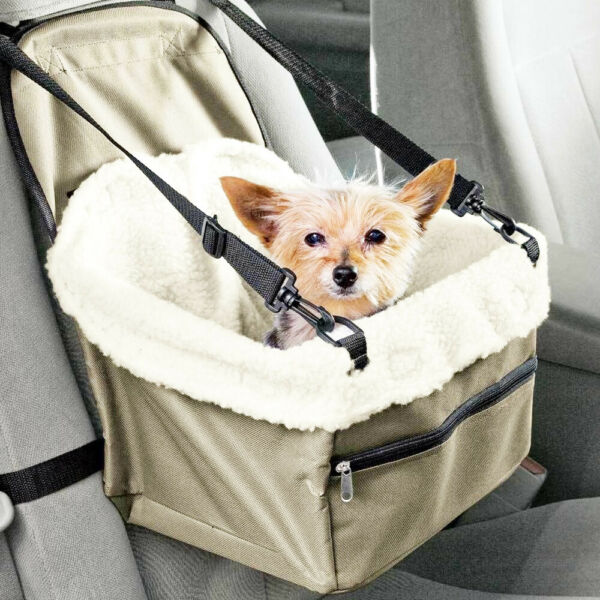 Dog Booster Seat – Dog Car Seat For Small Dogs – Pet Car Seat $25.85