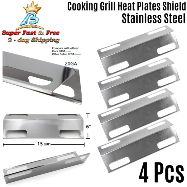 Ducane Gas Grill Parts Grill Heat Shield Burner Covers Vaporizor Bar Flavorizer