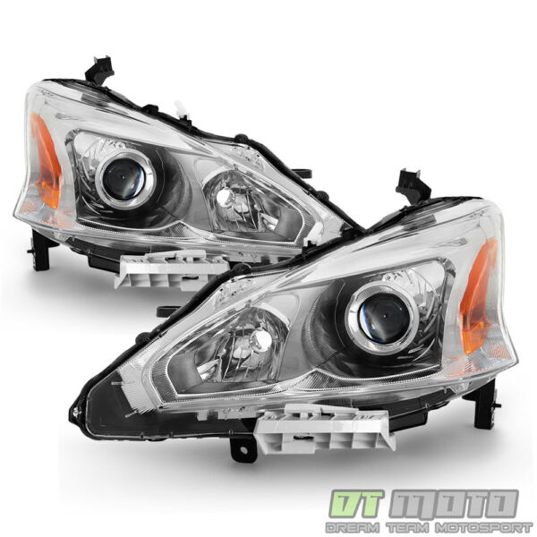 For 2013 2014 2015 Altima Sedan Projector Headlights Headlamps 13-15 Left+Right $129.99