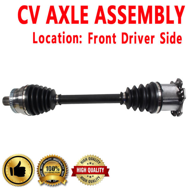FRONT RIGHT Passenger Side CV DRIVE AXLE SHAFT ASSEMBLY For AUDI A4  2002-2009