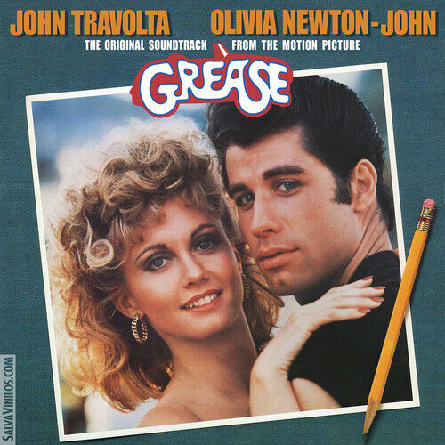 John Travolta Grease Original Motion Picture Soundtrack New Vinyl LP