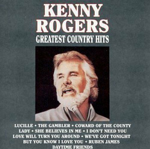 Kenny Rogers Greatest Country Hits New CD