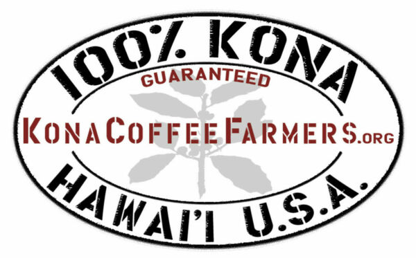 Dark Roasted Kona Coffee Beans 100% Hawaiian Whole Bean Coffee 6 - 1 Pounds Bags