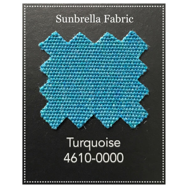 Sunbrella Fabric 60quot; Wide Turquoise By the Yard