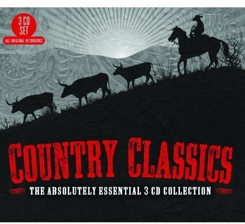 Various Artists Country Classics: The Absolutely Essential 3CD Col New CD UK