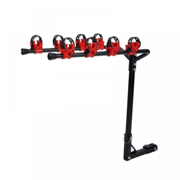 New 4 Bicycle Bike Rack 1 1 4quot; 2quot; Hitch Mount Carrier Car Truck AUTO SUV Swing $38.59