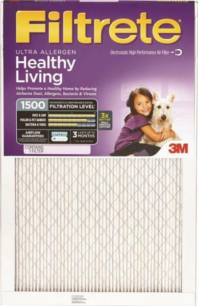 3M FILTRETE 2000DC-6 ULTRA CASE (6) 16x20x1 AIR FURNACE PLEATED HVAC FILTERS