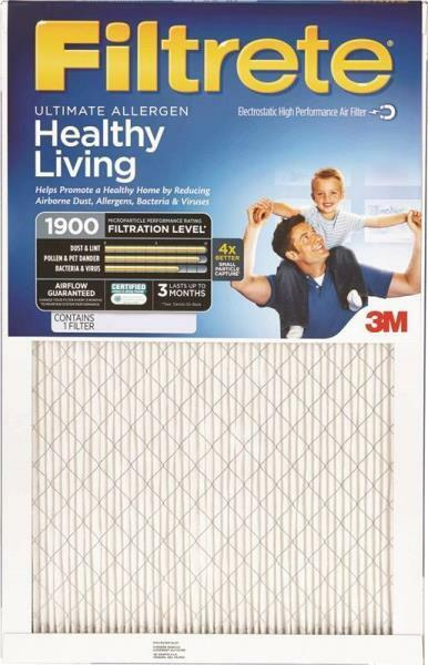 3M FILTRETE UA00DC-6 ULTIMATE CASE 6 16X20x1 AIR FURNACE PLEATED HVAC FILTERS