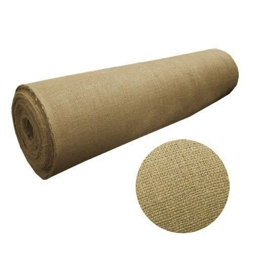60quot; Wide 20 yard long 10oz Jute Premium Burlap Roll