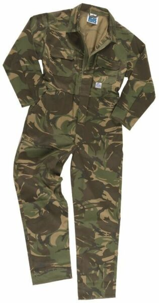 Camouflage Toddler Kids Coveralls (Boiler Suit)