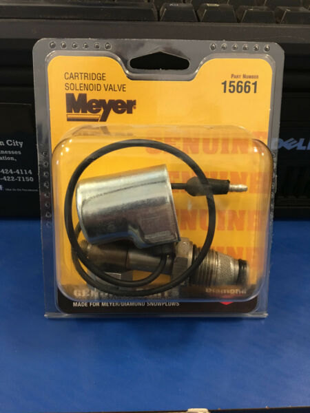 MEYER SNOW PLOW Cartridge Solenoid Valve 15661C Meyer Genuine Plow Part 15661