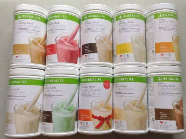 NEW Herbalife Formula 1 Healthy Meal Nutritional Shake Mix (Buy 3 / $5 Discount)