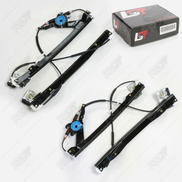 2x Electric Window Lifter Complete Front Left Right For Ford Mondeo 3 III
