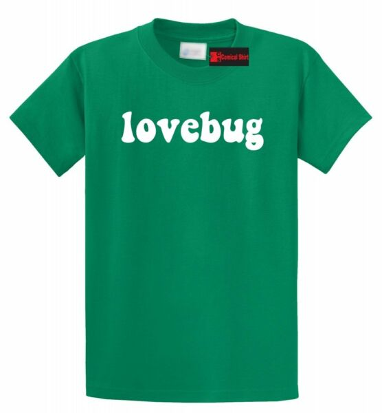 Lovebug T Shirt Cute Valentines Day Gift Boyfriend Girlfriend Gift Tee Shirt