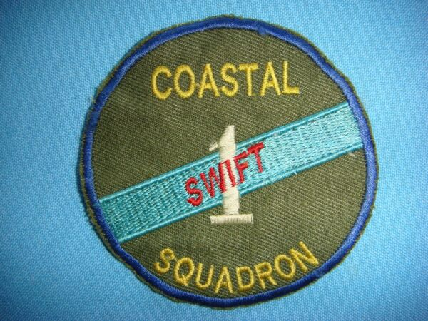 VIETNAM WAR PATCH US COASTAL SQUADRON SWIFT 1
