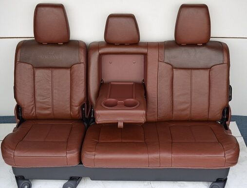 2011-2014  FORD F250 f350 F450 SUPER DUTY KING RANCH REAR SEAT 6040