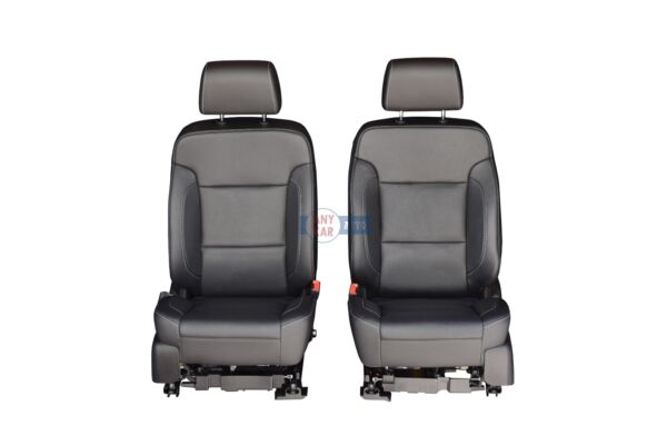 2015 Suburban LTZ Front Seat Black Leather