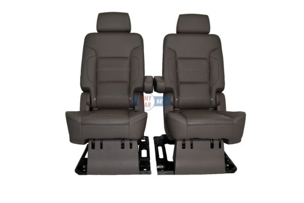 2015-2016 Yukon Denali XL 2nd Row Bucket Seats Powerheating dark atmosphere