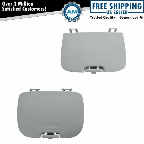 OEM Overhead Console Sunglass Holder Garage Door Cover Kit Flint Gray for Ford