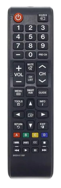 New Universal Remote Control for ALL Samsung LCD LED HDTV 3D Smart TVs $6.95