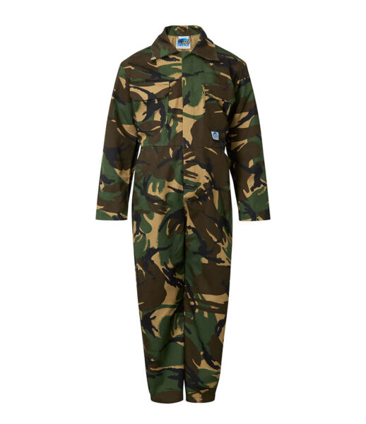 Camouflage Children's Kids Coveralls (Boiler Suit)