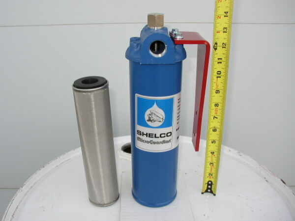 New 40 Micron Cleanable Fuel Oil FilterWaste Oil HeatersBurnersFurnaceWVO