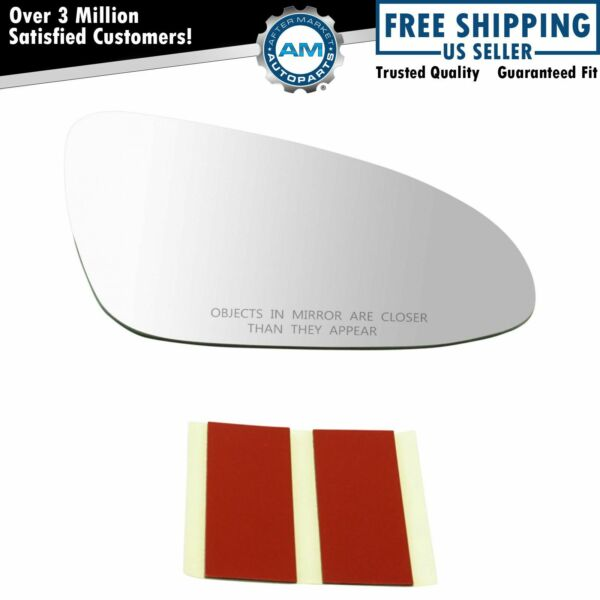 Exterior Power Mirror Glass w/o Backing Plate RH Passenger Side for Toyota New