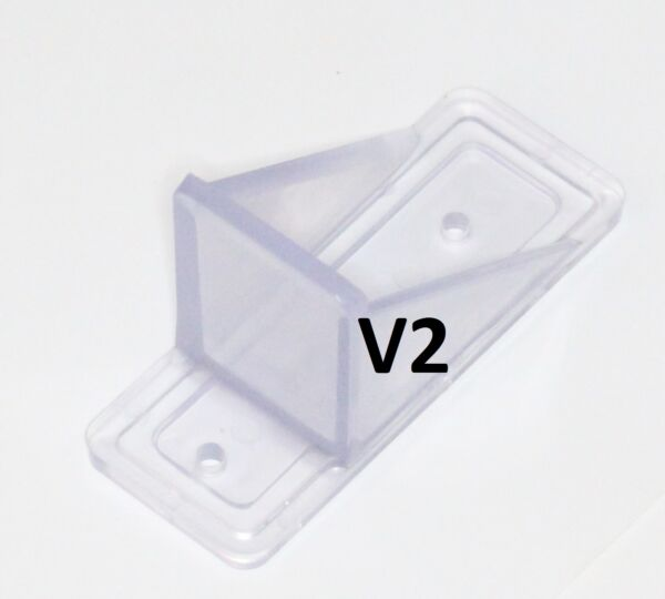 MINI Roof Guard Snow Guard Prevent Sliding Ice Snow Stop Buildup Plastic ACRYLIC $0.99