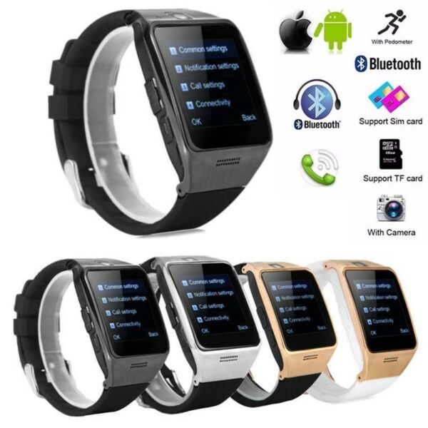 LG128/LG118 Waterproof Bluetooth Smart Watch Phone for Samsung iPhone Android