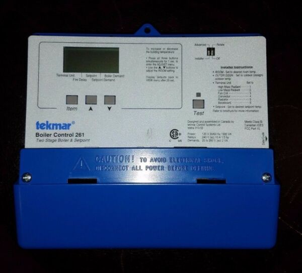 Used Tekmar 261 2 stage boiler controller $250.00