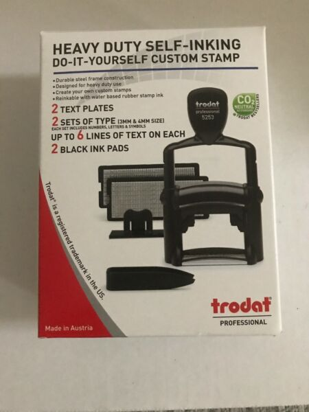 Trodat Professional 5253 do-it-yourself (DIY) stamp