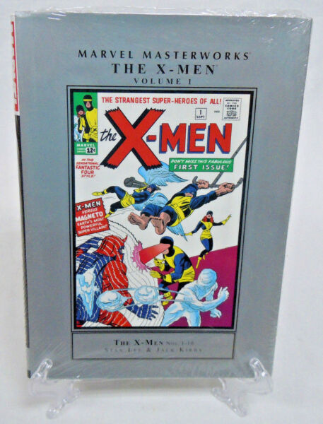The X Men Volume 1 Collects 1 10 Marvel Masterworks HC Hard Cover New Sealed