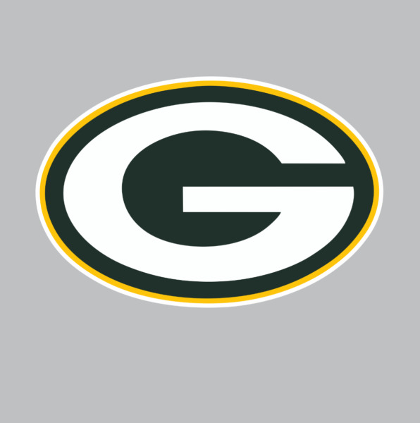 Green Bay Packers NFL Football Color Logo Sports Decal Sticker Free Shipping