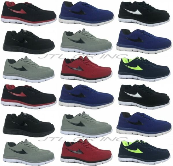 Mens Air Athletic Fashion Sneakers Casual Low Rise Running Sport Tennis Shoes