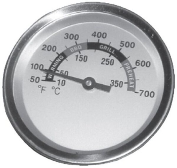 Charbroil Kenmore Round 2 3 8quot; Gas Grill Replacement Temperature Gauge 00012