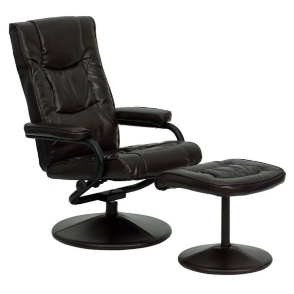 Flash Furniture Brown Bonded Leather Recliner Brown BT 7862 BN GG $209.99